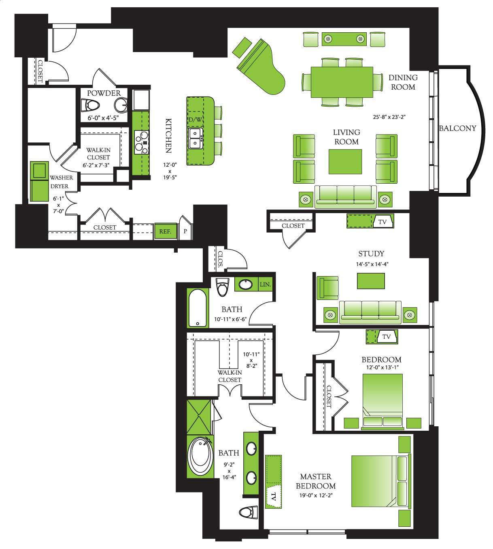 luxury two bedroom apartment floor plans. FLOOR PLANS Cotton Properties