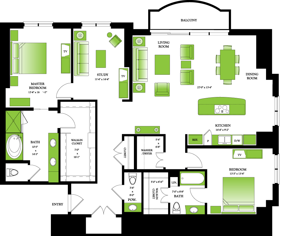 Apartment floor plans for 2000 square feet for 2000 sq ft prefab homes